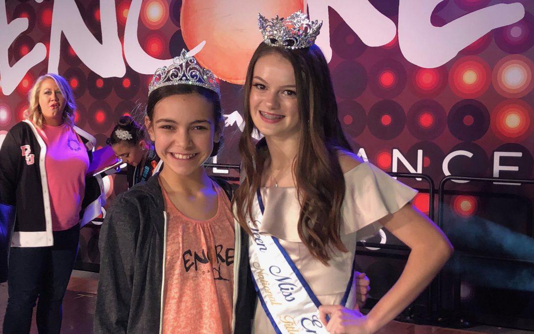 Skylin Helms crowned Dallas Regional Junior Miss Encore 2018-2019