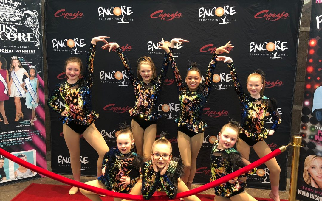 Dance Team wins Ultra High Gold at Encore