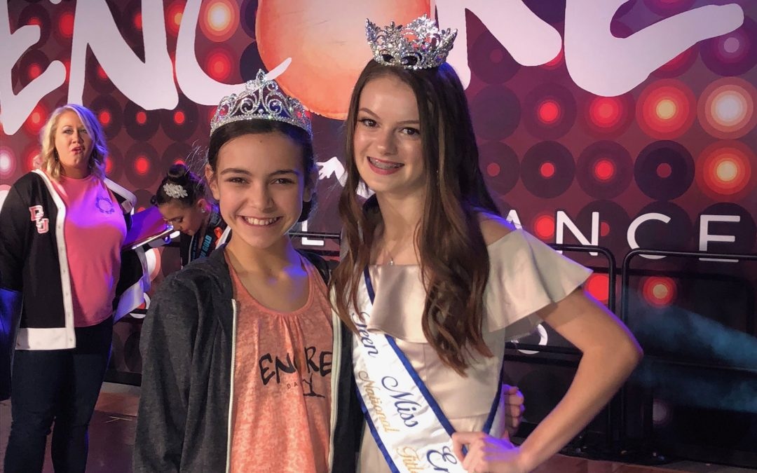 Skylin Helms crowned Dallas Regional Junior Miss Encore 2018-2019