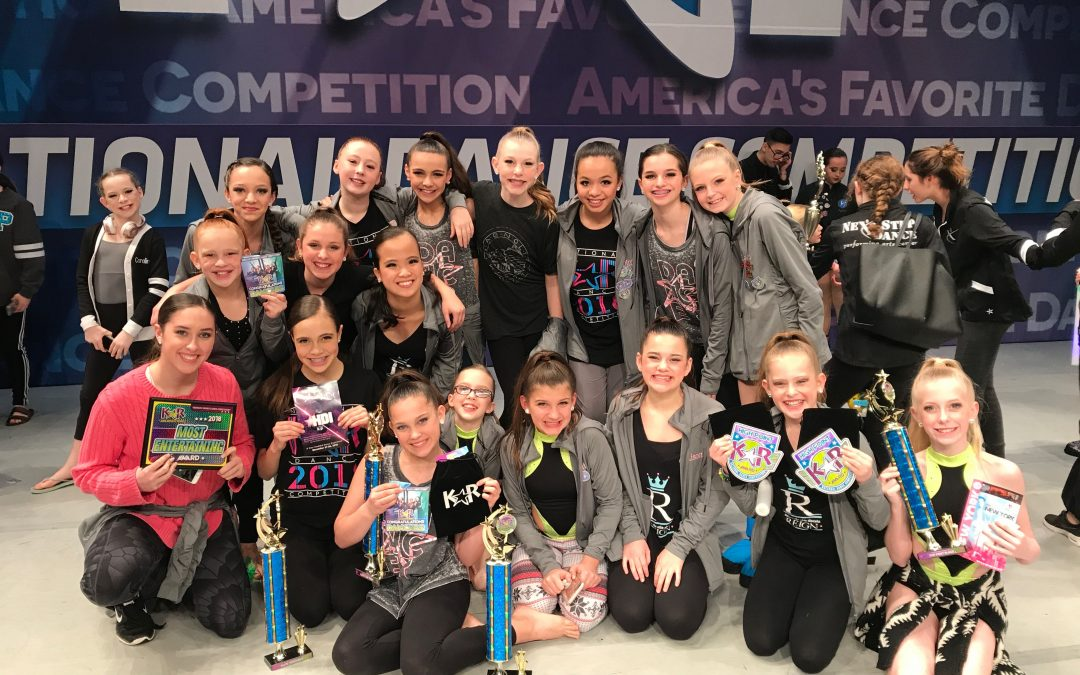 Jr/Teen Ballet/Tap/Contemporary/Jazz results