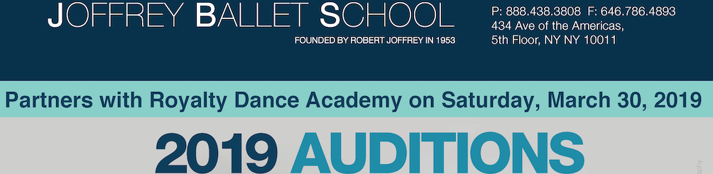 Joffrey Ballet School to hold auditions at Royalty Dance Academy